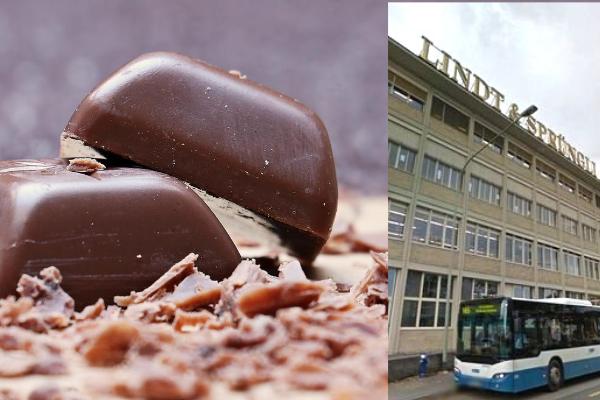 Un problema en fábrica provoca 'lluvia de chocolate'