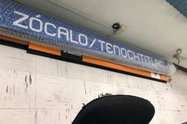 La estación Zócalo del Metro oficialmente cambiará de nombre