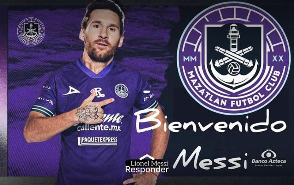 Poncho Lizárraga anuncia la llegada de Messi al Mazatlán FC