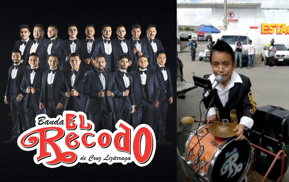 """Un niño conmueve a la banda """"El Recodo"""" y sus fans"""