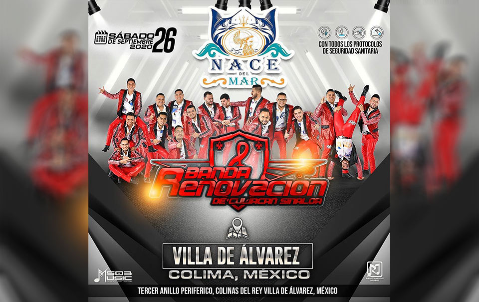 Ya hay fecha para el primer concierto con público en México
