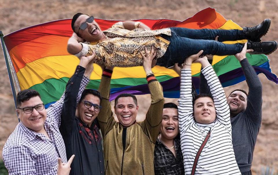 """Grupo Firme"" grabó un videoclip con temática gay"