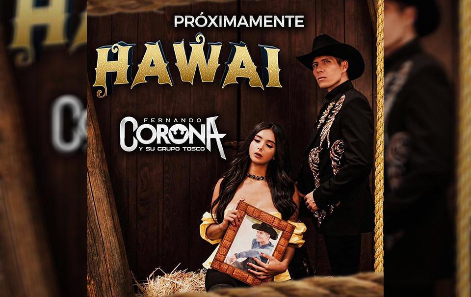"""Fer Corona lanzará cover de """"Hawái"""" del colombiano Maluma"""