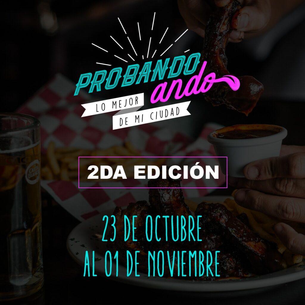 """LLEGA EL FESTIVAL CULINARIO """"PROBANDO ANDO"""""""