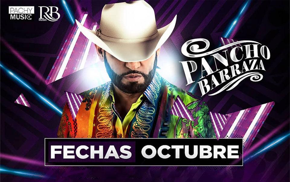 Pancho Barraza con agenda llena de conciertos en Estados Unidos