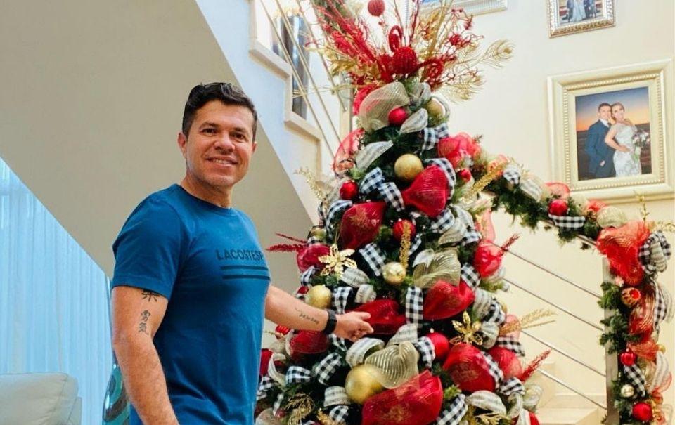 Jorge Medina tiene un espíritu muy navideño