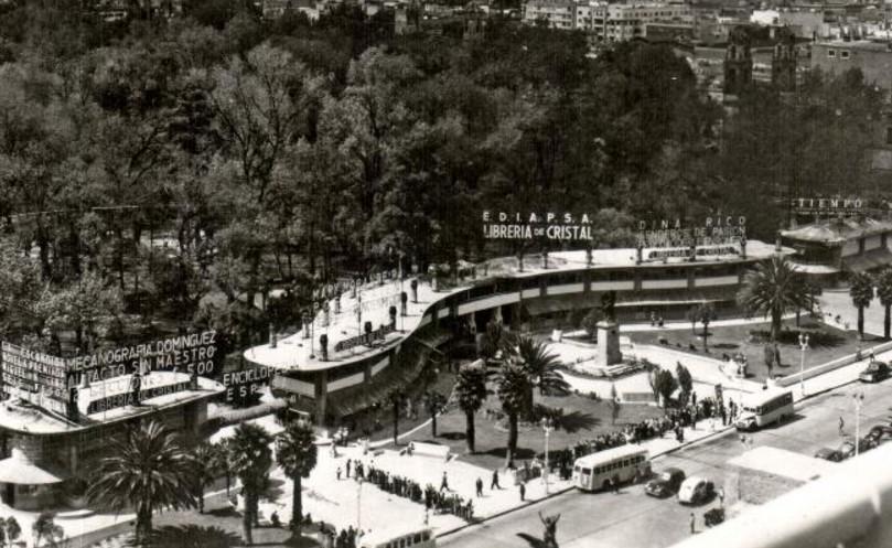 """""""La Librería de Cristal"""" que existió en la Alameda y fue considerada de las mejores del mundo"""