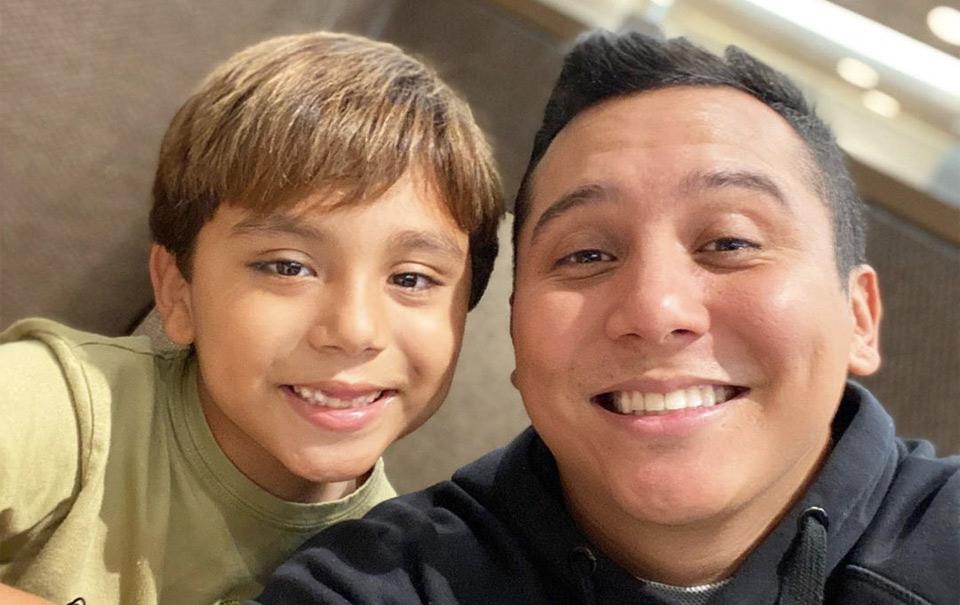 Edwin Luna pide madurez para poder ver a su hijo Miguel