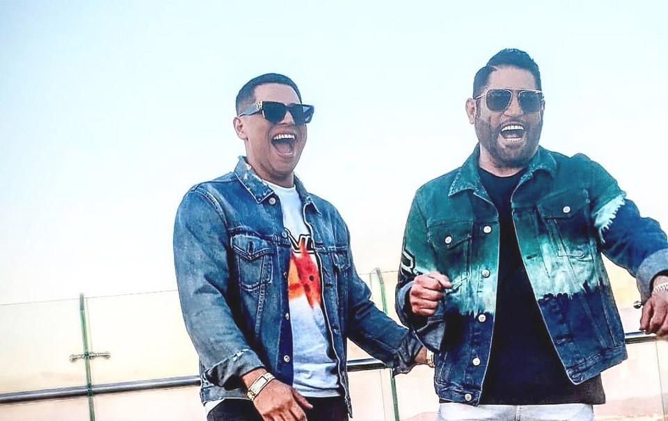 Pancho Barraza y Eduin Caz graban nueva versión de un clásico